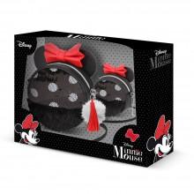 Komplektas: Minnie Mouse vaikiška rankinė+kosmetinė