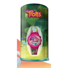 Laikrodis Trolls rožinis