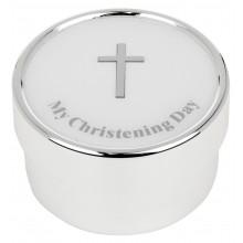 Dėžutė pasidabruota Mano krikštynos