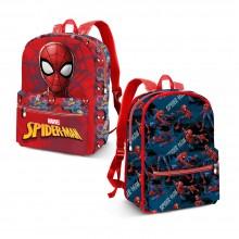 Kuprinė Spiderman vaikiška dvipusė 25*31*10 cm