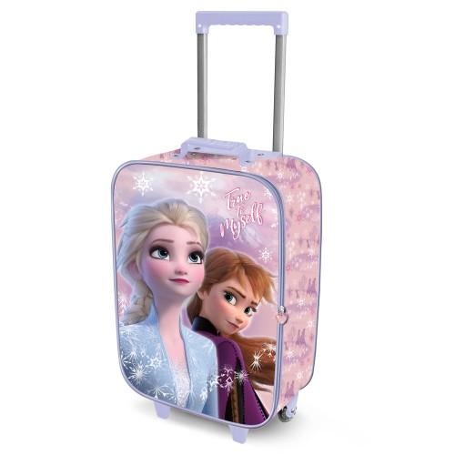 Lagaminas Disney Frozen Soft 3D 34*52*17cm