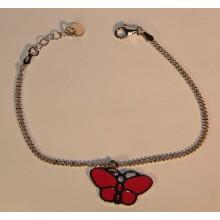 Apyrankė drugelis rožinis