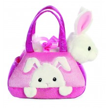 Vaikiška rankinė Fancy Pal Peek-a-Boo Rabbit