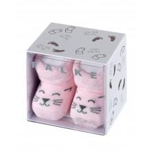 Kojinės Falke Baby pirmosios kojinytės katytė rožinės 62-68 cm