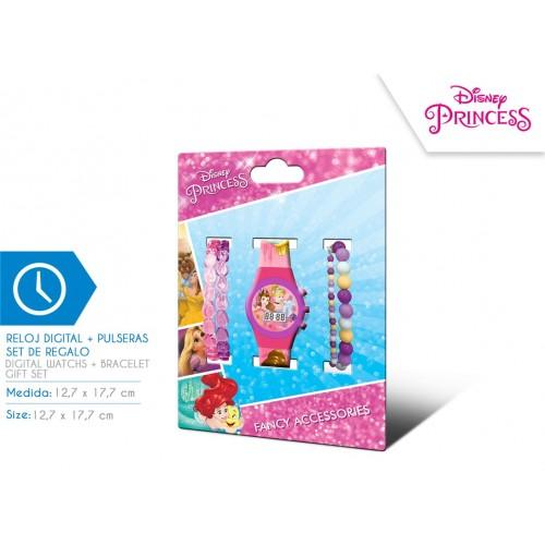 Laikrodis Disney Princess su apyrankėm